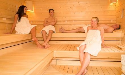 Tageskarte Saunalandschaft für Zwei für die Oberhundemer Wellness Oase (50% sparen*)