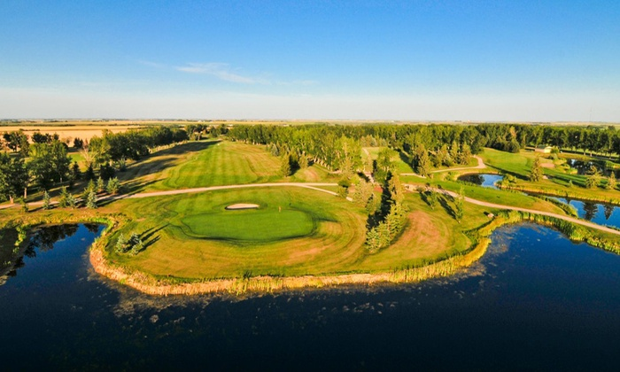 Carstairs Golf Club - Carstairs Community Golf Club: 18 Holes of Golf for Two or Four with Cart Rental, Range Balls, and Drinks at Carstairs Golf Club (Up to 57% Off)
