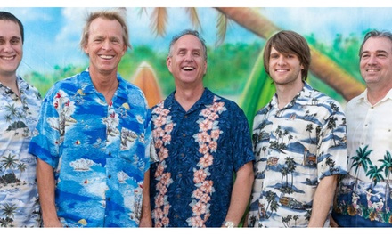 Woodie and the Longboards Surf Rock Tribute on Friday, April 13, at 7:30 p.m.