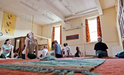 image for Eight Yoga Classes for One or Two at Shivam Yoga (Up to 78%)