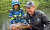 Fraser Valley Trout Hatchery Visitors Centre - Abbotsford: Fishing Lesson for Two or Four Children at Fraser Valley Trout Hatchery Visitors Centre (42% Off)