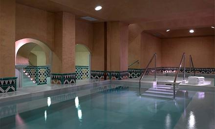 Circuito spa árabe para 2 con opción a masaje y peeling desde 29,95 € en Baños Árabes Hotel Macià Real de la Alhambra