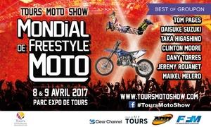 Tours Evénements: 1 entrée au mondial du Freestyle moto le 9 avril 2017, catégorie au choix, dès 29 € au Parc des expositions de Tours