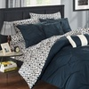 Reversible Bed-In-a-Bag Comforter and Sheet Set (10-Piece)