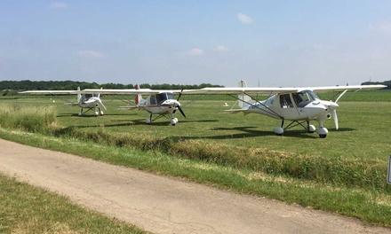 15, 30, 45 oder 60 Min. Rundflug mit dem Ultraleichtflugzeug bei der UL Flugschule Rheinland (bis zu 52% sparen*)