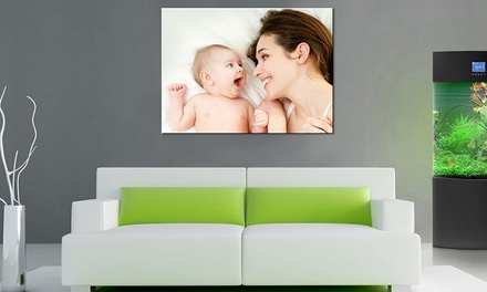 Collage or Single Image Framed Canvas Print from £2.95 (Up to 93% Off)