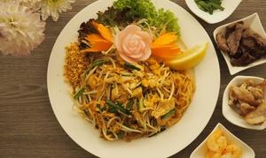 Bangkok City: Thailändisches 3-Gänge-Menü nach Wahl für zwei oder vier Personen im Restaurant Bangkok City (38% sparen*)