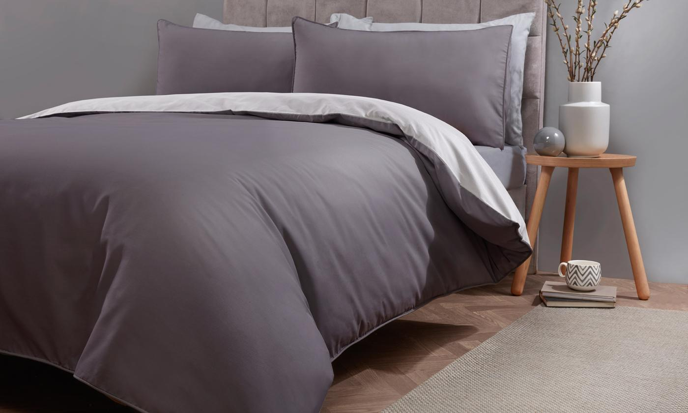 Pieridae Plain Dye Reversible Duvet Set