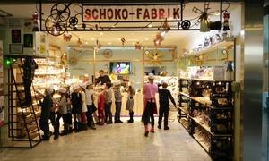 Schoko Fabrik: Schokoladen-Workshop für 1-4 Pers. oder Kindergeburtstag für bis zu 20 Pers. in der Schoko Fabrik (bis zu 57% sparen*)