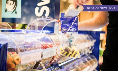 Up to AED 100 Toward Pick 'n' Mix Sweets at all Sweet Factory Kiosks (40% Off)