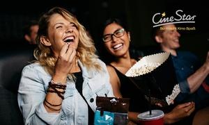 CineStar: 5 CineStar Kinogutscheine für alle 2D-Filme inkl. Sitzplatz- und Filmzuschlag bei CineStar (50% sparen*)