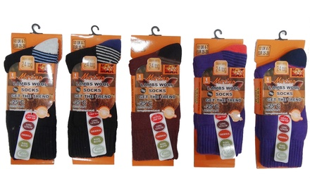 Women's Thermal-Brushed Socks