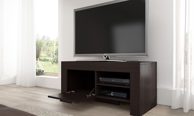meuble tv rome groupon shopping. Black Bedroom Furniture Sets. Home Design Ideas