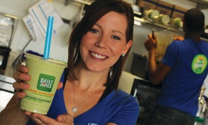 Daily Juice: $12 for $20 Toward Juice, Smoothies, and Salads at Daily Juice
