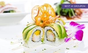 Sushi Factory (Zentrale): Wertgutschein über 20 € oder 40 € anrechenbar auf Speisen und Getränke in teilnehmenden Filialen der Sushi Factory
