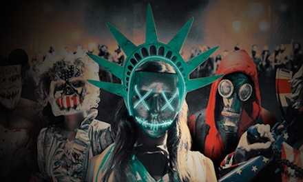 The Purge in Union Square Halloween Event on Saturday, October 28 at 10 p.m.
