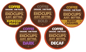 EKOCUPS Artisan Organic Single-Serve Coffee Cups (40-Count)