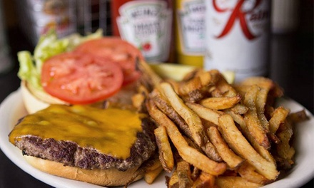 $11 for $20 Worth of Diner Food and Drinks for Two, Redeemable Monday–Friday at The 5 Point Café