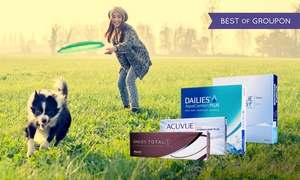 Lenson: £40 or £60 Toward Contact Lenses at Lenson (Up to 53% Off)