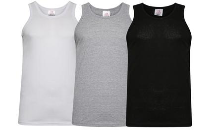 SixPack of Men's Cotton Vests