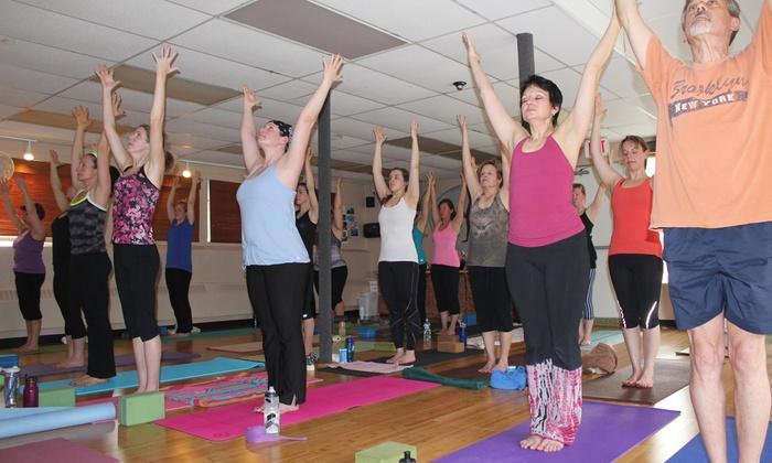 bCalm Power Yoga - Hopkinton: 10 Yoga, Pilates, or Barre Classes at bCalm Power Yoga (54% Off)