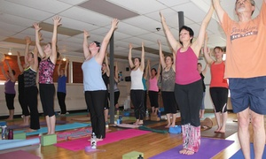 bCalm Power Yoga: 10 Yoga, Pilates, or Barre Classes at bCalm Power Yoga (59% Off)