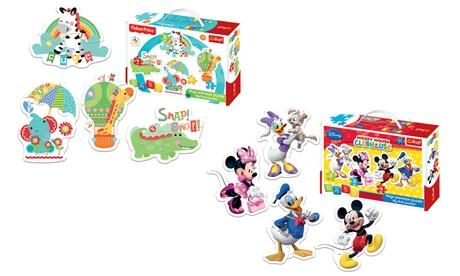 Trefl Baby puzzles para niños disponible en 3 diseños