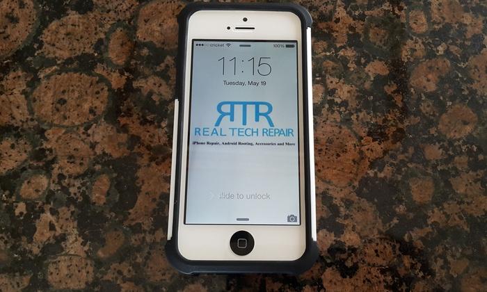 Real Tech Repair - Salt Lake City: iPhone 5 Screen Replacement from Real Tech Repair (45% Off)