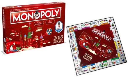Winning Moves Monopoly Monopoly FIFA World Cup 2018