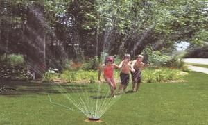 Dramm ColorStorm 9-Pattern Turret Sprinkler with Metal Base