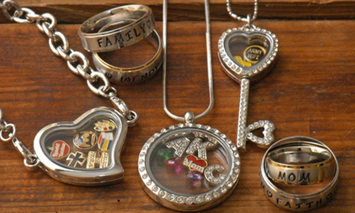 Stamp the Moment: Personalized Jewellery from Stamp the Moment (Up to USC$100 Value). Two Options Available.
