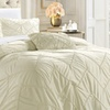 Valentine & Isla Pleated Duvet Cover Set (4-Piece)