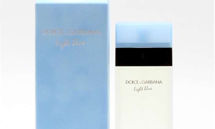 Up To 41 Off On Dolce Gabbana Light Blue Groupon Goods