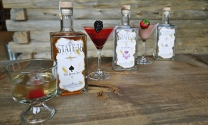 State 38 Distilling: Private Holiday Party with Tour and Drinks for 10, 20, 30, 40, or 50 at State 38 Distilling (Up to 50% Off)