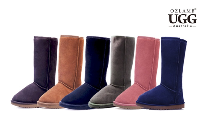 Groupon Goods: $89 for a Pair of Ozlamb Premium Classic Tall UGG Boots in Choice of Colour