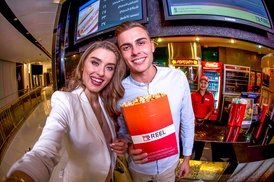 Reel Cinemas: AED 50 Toward Food and Soft Drinks with Optional Cinema Ticket at Reel Cinemas (Up to 30% Off)