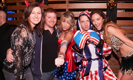 Nightmare on Meridian Street Halloween Pub Crawl for Two or Four on October 31 from My Drink On (Up to 65% Off)