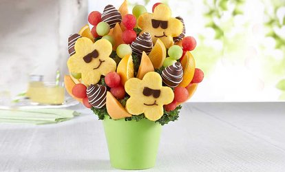 Flowers sweets baskets deals coupons groupon image placeholder image for 50 off fruit arrangements from fruitbouquets negle Choice Image