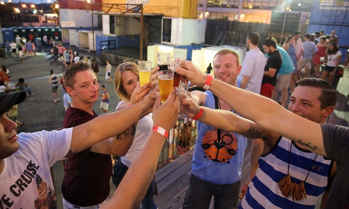Backyard Beer Festival - Arlington Gateway Park: General or VIP Admission to the Backyard Beer Festival on Saturday, Sept. 19 (Up to 29% Off). Two Sessions Available.