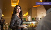 Theme Nights or International Buffet for Two, Four or Six with Two Soft Drinks at Ginger, Park Rotana (Up to 54% Off)