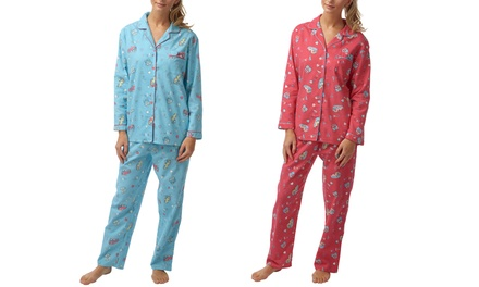 Women's Cotton Camper Pyjamas Set