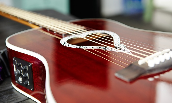 Take Sessions - Westwood: Two or Four Guitar Classes at Take Session (Up to 57% Off)