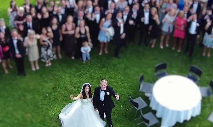 Kernow:drones - St Austell: Drone Wedding Photography Package from Kernow:drones