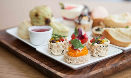 Afternoon Tea, Including Sandwiches, Scones, Tea & Desserts, for Two or Four at Capstone Tea & Fondue (50% Off)