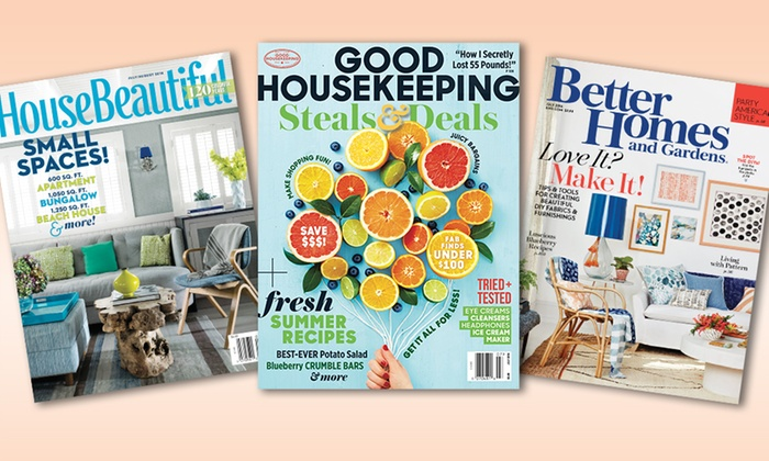 Home And Garden Magazines Groupon Goods