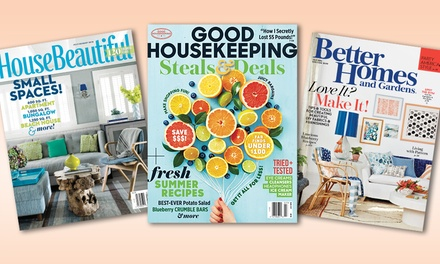Home and garden magazines cooking magazines groupon for Gardening 4 less groupon