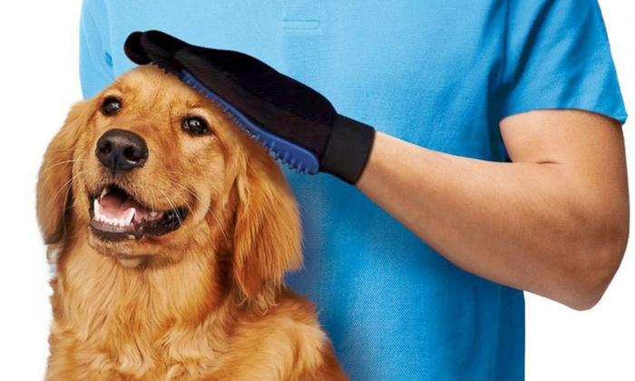 jusqu 39 69 gant de nettoyage pour chien groupon. Black Bedroom Furniture Sets. Home Design Ideas