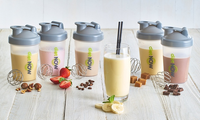 Up To 60 Off Diet Now Meal Replacement Shakes Groupon