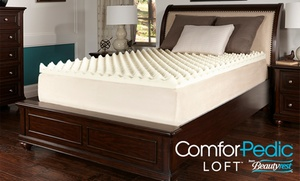 ComforPedic Loft from Beautyrest Memory Foam Mattress Topper