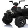 12V Black Ride-on Toy Utility Quad